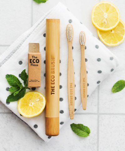 THE ECO BRUSH BAMBOO TOOTHBRUSH *CHILD SIZED*