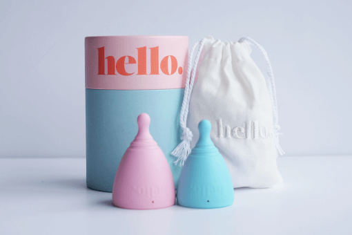 THE HELLO CUP MENSTRUAL CUP (NZ MADE)