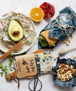 LilyBee Reusable Food Wrap