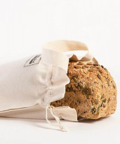 RETHINK REUSABLE BREAD BAG – SHORT / BLOCK