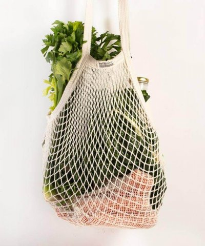 RETHINK REUSABLE STRING SHOPPING BAG – SHORT HANDLE