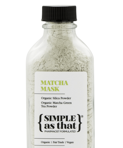 SIMPLE AS THAT MATCHA MASK