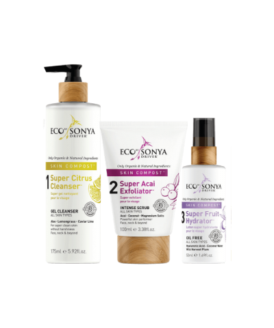 ECO BY SONYA SKIN COMPOST 3 STEP SKINCARE SYSTEM