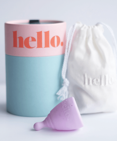 THE HELLO CUP MENSTURAL CUP (NZ MADE) – XS / TEEN