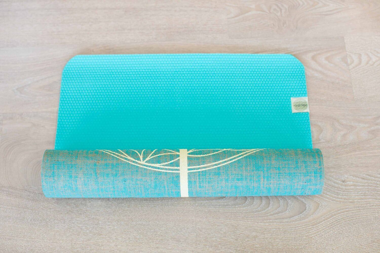 Yogatribe Eco Friendly Yoga Mats Made From Jute Amp Per