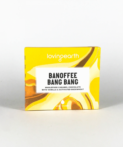 LOVING EARTH BANOFFEE BANG BANG CHOCOLATE