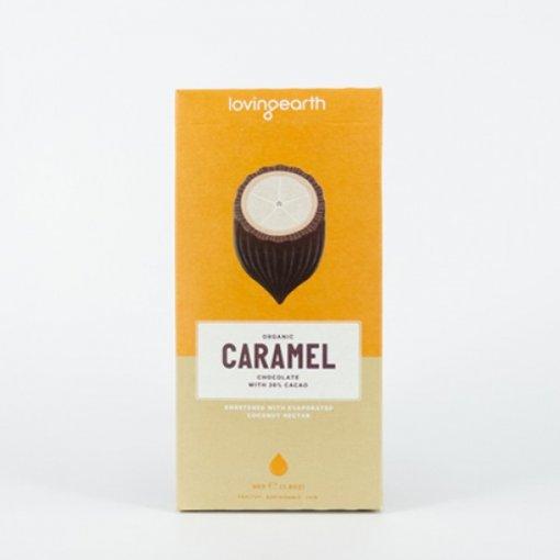 LOVING EARTH CARAMEL CHOCOLATE