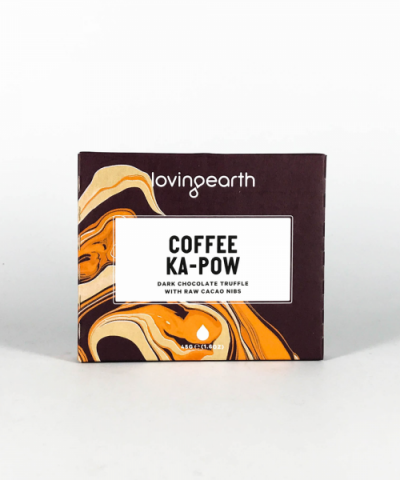 LOVING EARTH COFFEE KA-POW CHOCOLATE