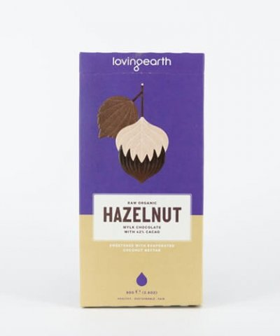 LOVING EARTH HAZELNUT CHOCOLATE