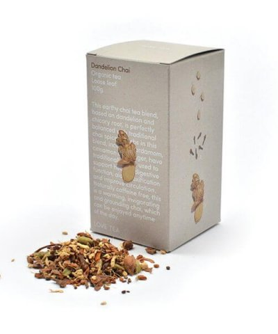LOVE TEA DANDELION CHAI LOOSE LEAF TEA