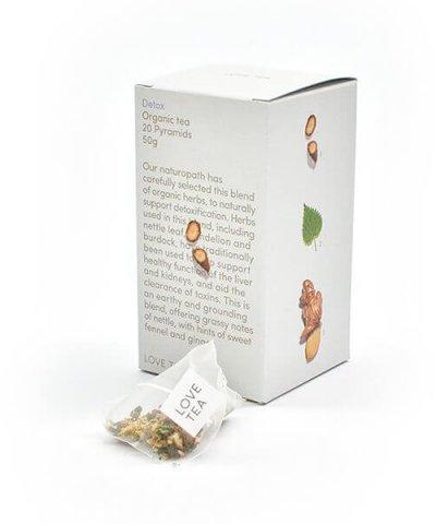 LOVE TEA DETOX TEA PYRAMIDS