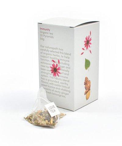 LOVE TEA IMMUNITY TEA PYRAMIDS