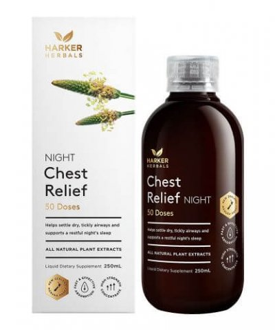 HARKER HERBALS CHEST RELIEF NIGHT