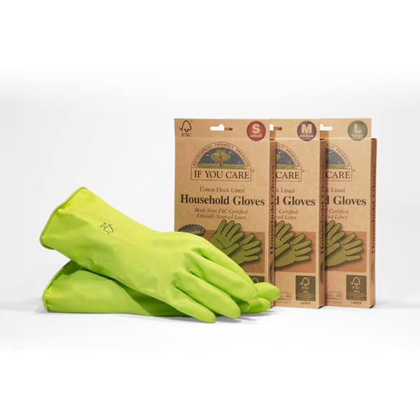 IF YOU CARE COMPOSTABLE HOUSEHOLD GLOVES