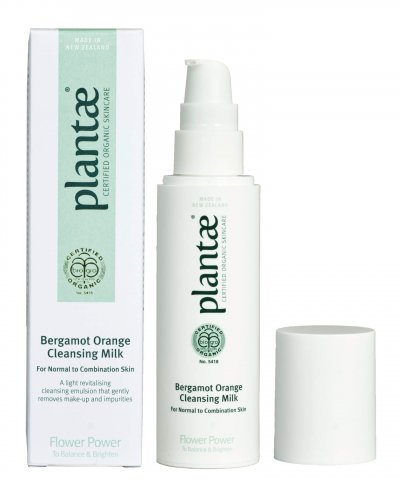 PLANTAE CERTIFIED ORGANIC BERGAMOT ORANGE CLEANSING MILK