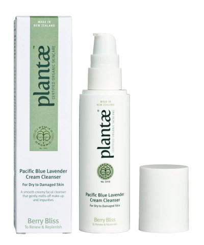 PLANTAE CERTIFIED ORGANIC PACIFIC BLUE LAVENDER CREAM CLEANSER
