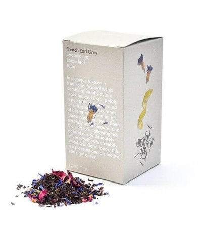 LOVE TEA FRENCH EARL GREY LOOSE LEAF TEA