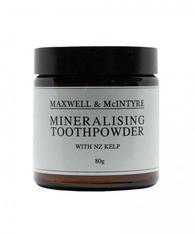 MAXWELL & MCINTYRE MINERALISING TOOTH POWDER