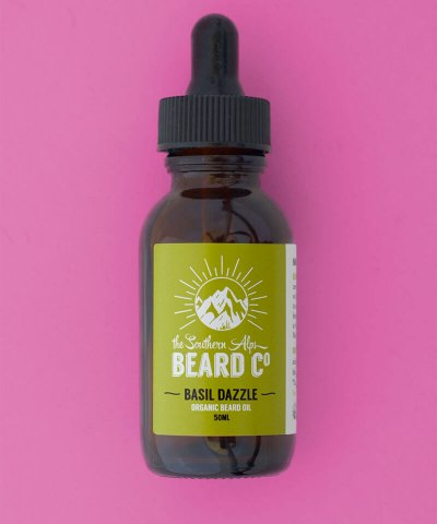 THE SOUTHERN ALPS BEARD OIL – BASIL DAZZLE