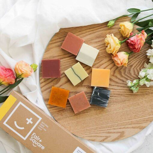 FAIR + SQUARE – SOAPERY SELECTION BOX