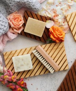 Little Bit Daily Wooden Soap Keepers