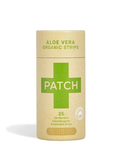 PATCH ORGANIC BIODEGRADABLE STICKING PLASTERS – ALOE VERA