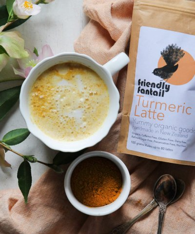 Friendly Fantail Turmeric Latte