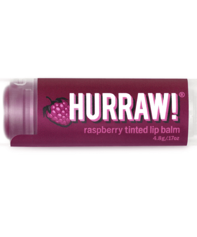 Hurraw! Raspberry Tinted Lip Balm