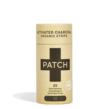 PATCH ORGANIC BIODEGRADABLE STICKING PLASTERS – CHARCOAL