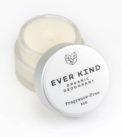 EVERKIND CERTIFIED ORGANIC DEODORANT – FRAGRANCE FREE JAR