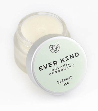 EVERKIND CERTIFIED ORGANIC DEODORANT – REFRESH JAR