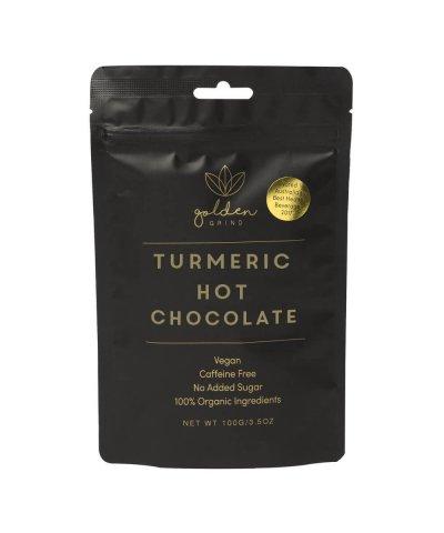 GOLDEN GRIND ORGANIC TURMERIC HOT CHOCOLATE