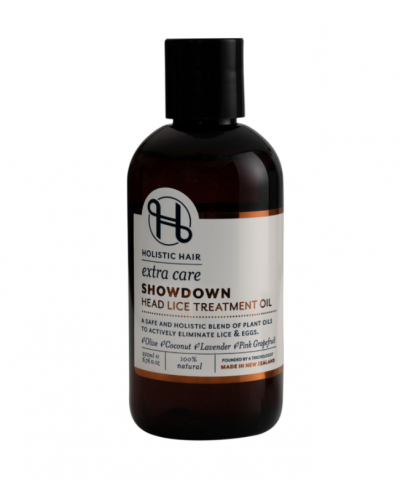 HOLISTIC HAIR SHOWDOWN HEAD LICE TREATMENT OIL