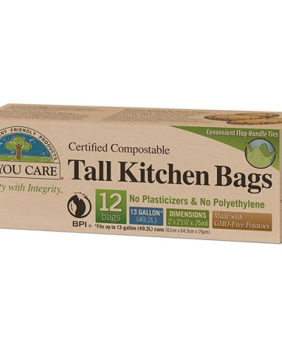 IF YOU CARE COMPOSTABLE KITCHEN BAGS