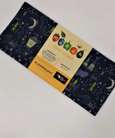 MUNCH CUPBOARD BEESWAX FOOD WRAPS – TWIN PACK FOR KIDS