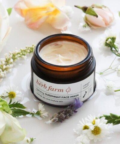 THE HERB FARM HYDRATING OVERNIGHT FACE MASK