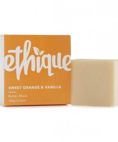 Ethique Orange Vanilla Lotion
