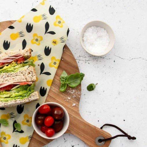 NIL ORGANIC VEGAN REUSABLE FOOD WRAPS