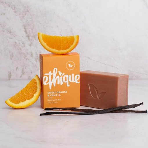 ETHIQUE SWEET ORANGE & VANILLA BODYWASH BAR