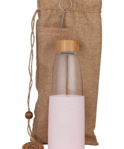 SOL REUSABLE GLASS DRINK BOTTLES