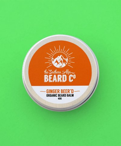 THE SOUTHERN ALPS BEARD BALM – GINGER BEER'D