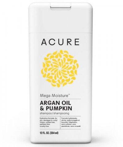 ACURE ORGANICS MEGA MOISTURE SHAMPOO – WITH ARGAN OIL & PUMPKIN