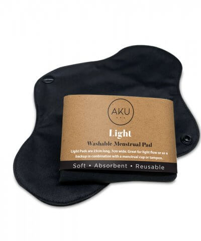 Aku light reusable menstrual pad