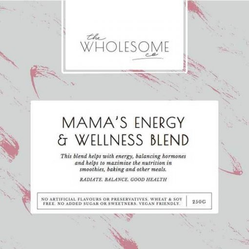 THE WHOLESOME CO HEALTH TUB – MAMA'S ENERGY