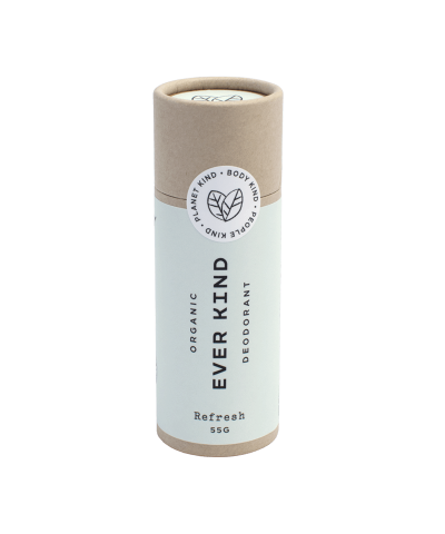 EVERKIND CERTIFIED ORGANIC DEODORANT STICK – REFRESH