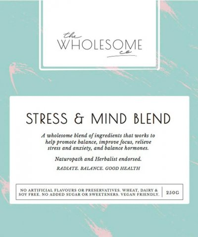 THE WHOLESOME CO HEALTH TUB – STRESS & MIND BLEND