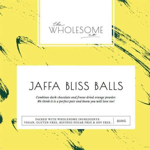 THE WHOLESOME CO BAKING KIT – JAFFA BLISS BALL MIX