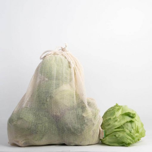 RETHINK REUSABLE PRODUCE BAGS – 3 PACK (EXTRA LARGE)