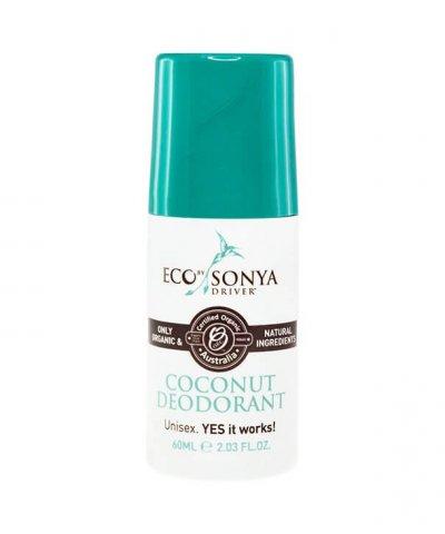 ECO BY SONYA – COCONUT ROLL ON DEODORANT