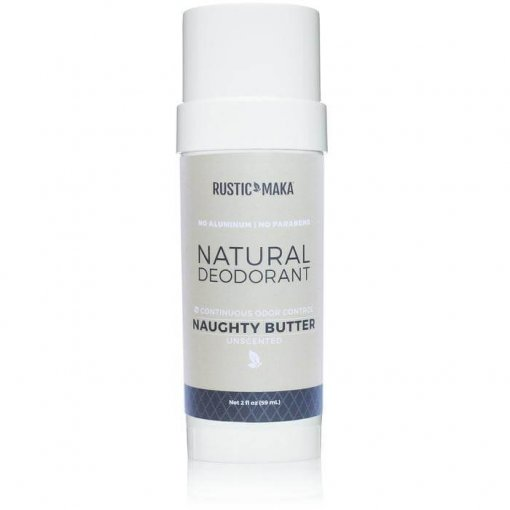RUSTIC MAKA NATURAL DEODORANT – NAUGHTY BUTTER (UNSCENTED)